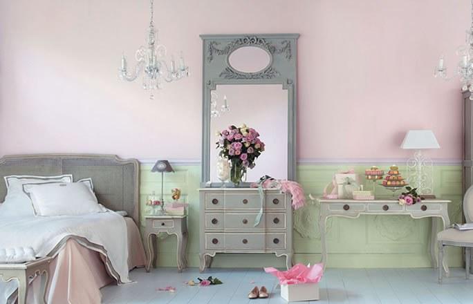 deco chambre esprit boudoir. Black Bedroom Furniture Sets. Home Design Ideas