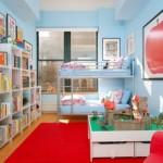 Deco chambre garcon bleu et rouge - Chambre garcon bleu et rouge ...
