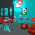 deco chambre garcon robot