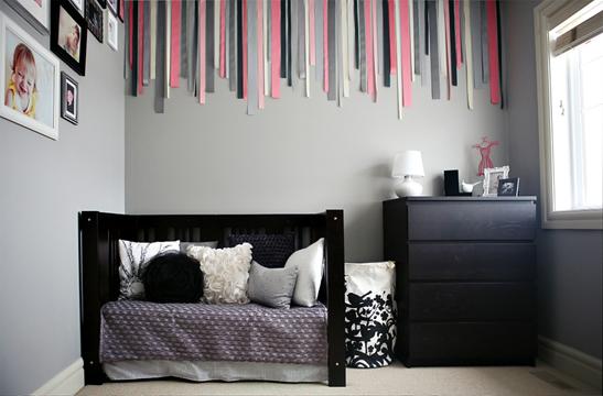 deco chambre gris et rose