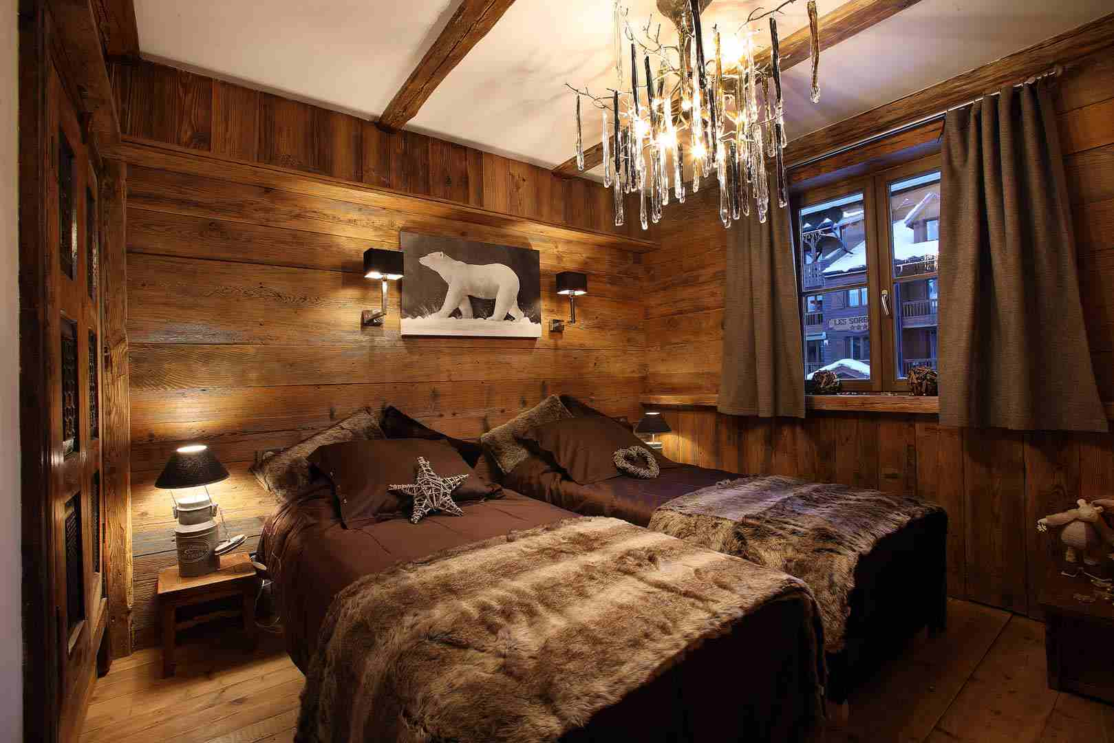 Beautiful Chambre Style Chalet Montagne Pictures - Design Trends ...
