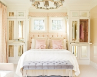 deco chambre romantique adulte visuel 3. Black Bedroom Furniture Sets. Home Design Ideas