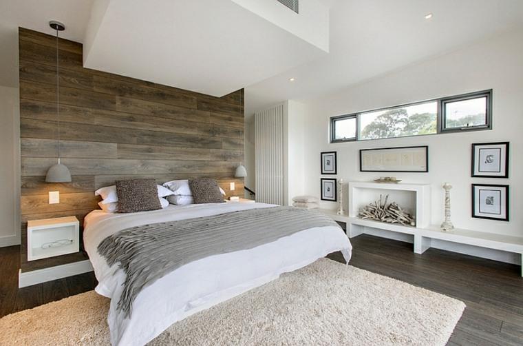 Deco chambre sol gris for Orientation du lit dans une chambre