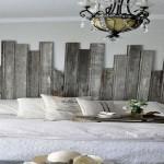 deco chambre tete de lit bois