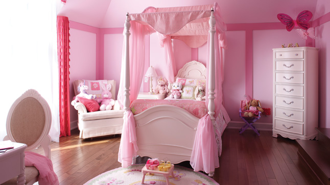 chambre pour petite fille photos de conception de maison. Black Bedroom Furniture Sets. Home Design Ideas