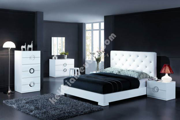 Decoration chambre a coucher adulte moderne for Photo chambre a coucher moderne