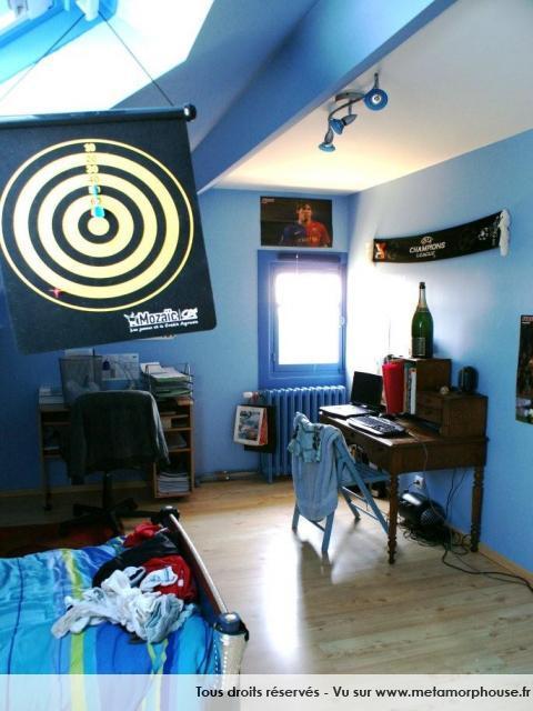 decoration chambre ado style americain - visuel #4