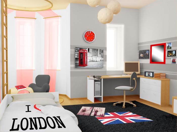 decoration chambre adolescent