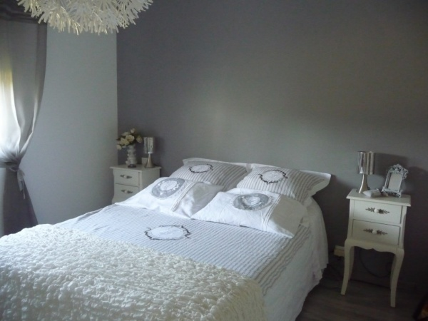 Decoration chambre adulte couleur lin for Idee couleur peinture chambre parentale