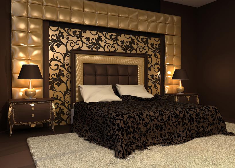 decoration chambre baroque