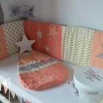 decoration chambre bebe corail