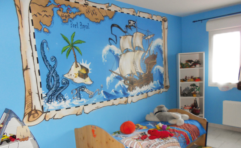 Decoration chambre bebe pirate visuel 4 - Decoration pirate chambre bebe ...