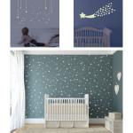 decoration chambre bebe theme etoile