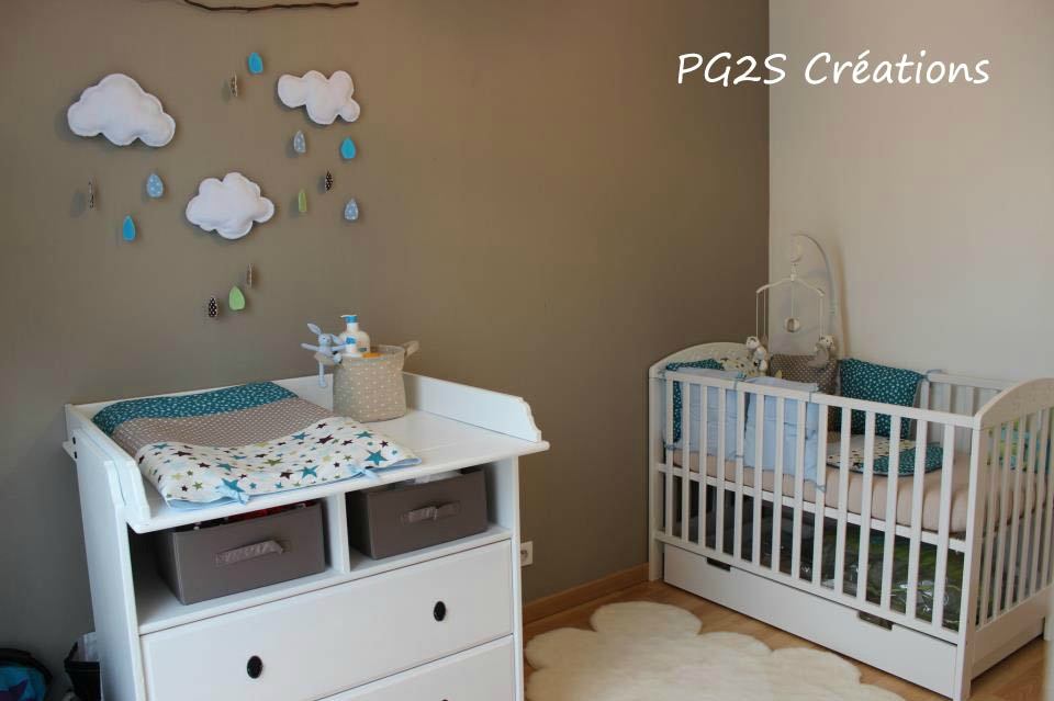 Decoration etoile chambre bebe for Decoration chambre bebe