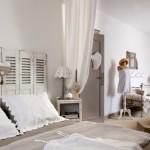 decoration chambre beige et blanc