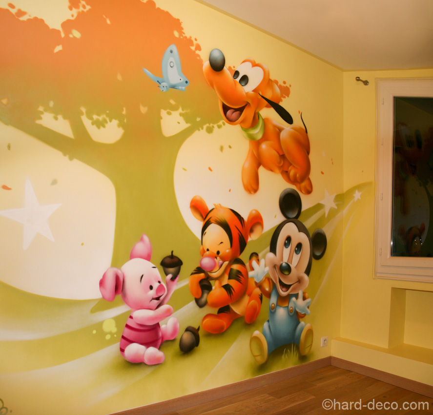 Decoration chambre disney - Decoration mickey chambre ...