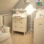 decoration chambre fille mansardee