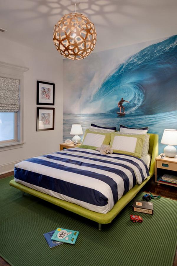 decoration chambre garcon soccer. Black Bedroom Furniture Sets. Home Design Ideas