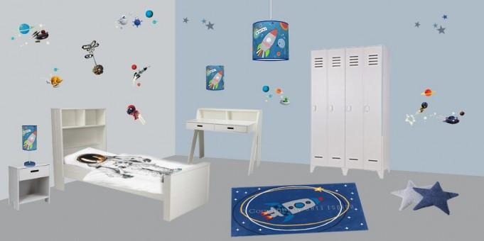 decoration chambre robot visuel 5