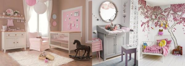 decoration chambre rose et beige - visuel #4