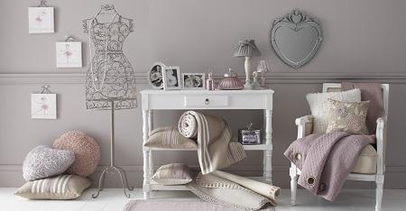 decoration chambre rose et beige - visuel #9
