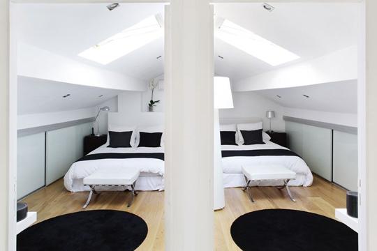 decoration chambres sous combles - visuel #8
