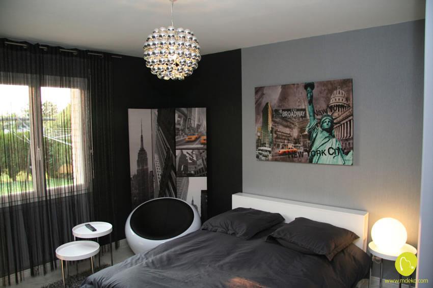 Emejing Chambre Ado New York Photos - Joshkrajcik.us - joshkrajcik.us