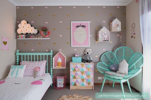 decoration de chambre fille - visuel #6