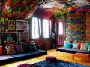decoration de chambre hippie - visuel #8