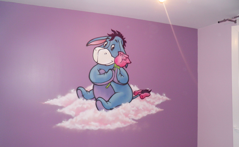 Decoration Chambre Fille Fee : Decoration murale chambre bebe fille visuel