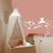 decoration murale chambre bebe fille
