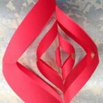 fabriquer deco de noel en papier