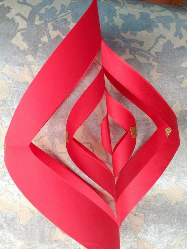 fabriquer des decoration de noel en papier my blog. Black Bedroom Furniture Sets. Home Design Ideas