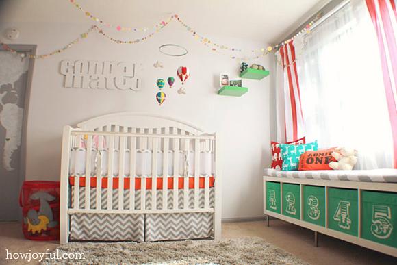 Couleur Peinture Olivier : faire une chambre pour bebe