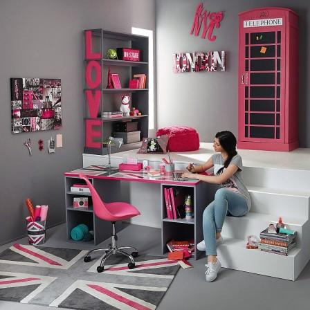idee deco pour chambre fille 11 ans - visuel #6
