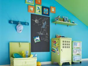idee peinture chambre garcon 3 ans - visuel #9