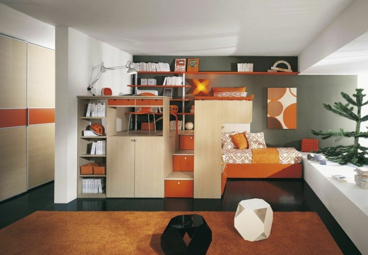 idee rangement chambre ado fille