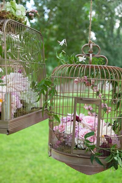lampe cage oiseaux deco - visuel #5