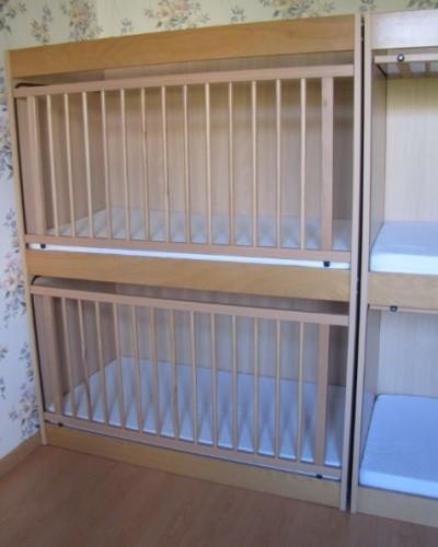 lit a barreaux pour jumeaux