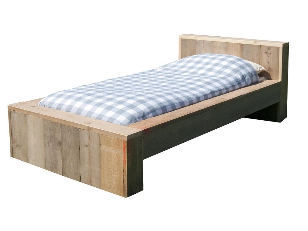 lit bois naturel cool tte de lit atypique en bois massif. Black Bedroom Furniture Sets. Home Design Ideas