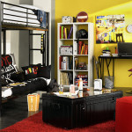 objet deco pour chambre new york. Black Bedroom Furniture Sets. Home Design Ideas
