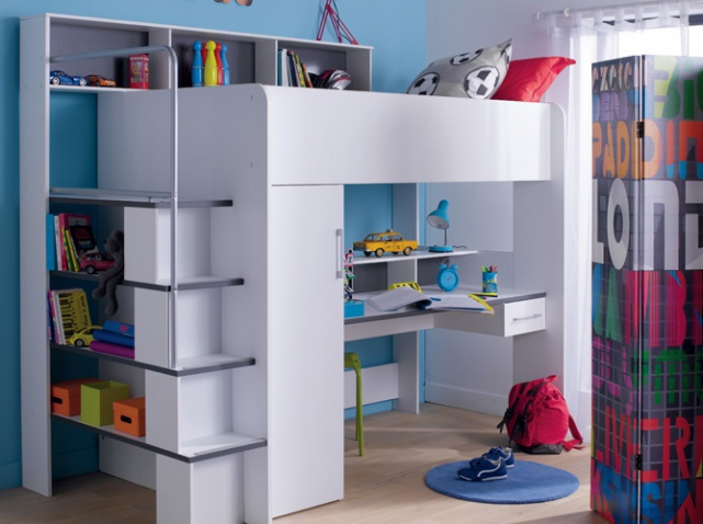 Astuce rangement petite chambre for Rangement petite chambre