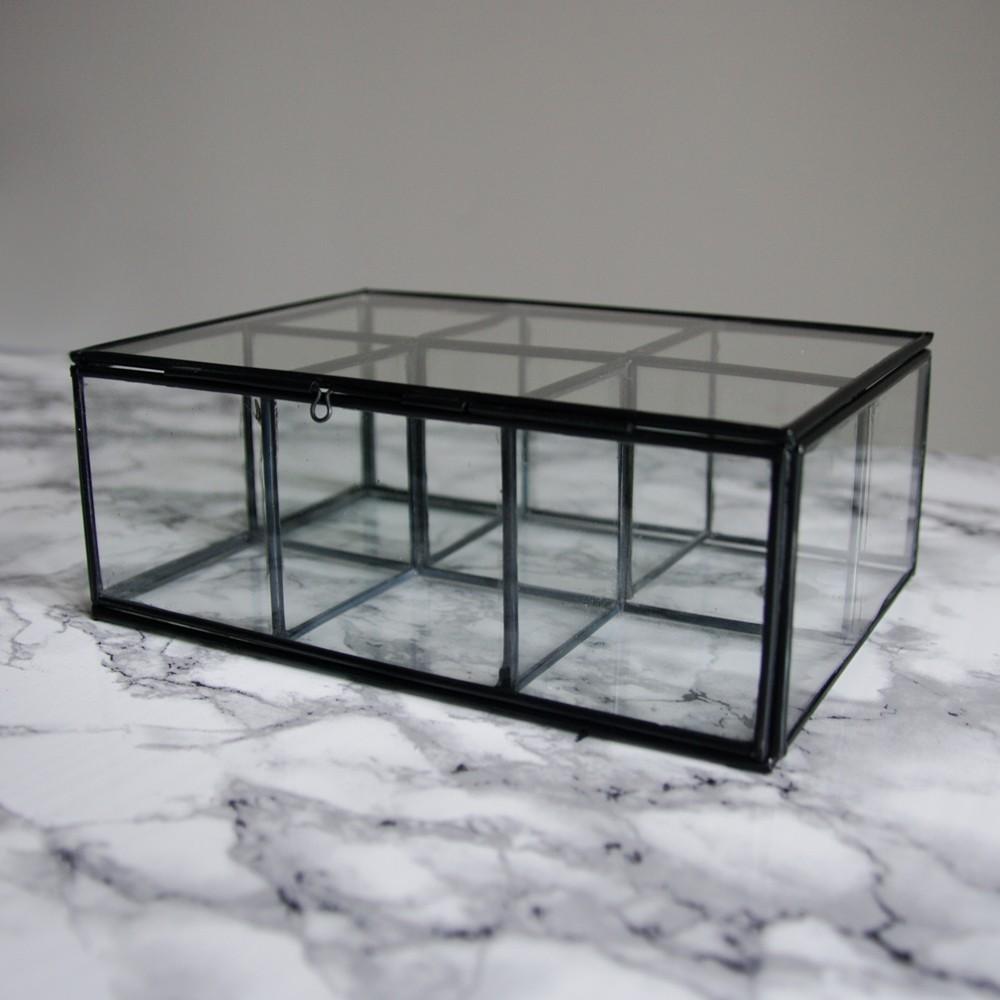boite a bijoux verre. Black Bedroom Furniture Sets. Home Design Ideas