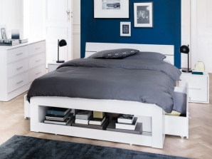 bout de lit avec rangement visuel 4. Black Bedroom Furniture Sets. Home Design Ideas