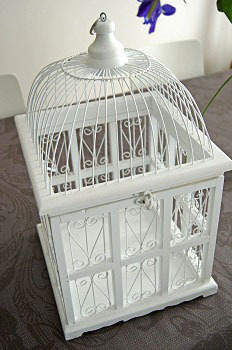 Cage oiseau deco occasion visuel 1 - Cage oiseau decorative interieur ...