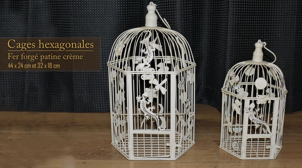 cage oiseau decorative interieur visuel 4. Black Bedroom Furniture Sets. Home Design Ideas