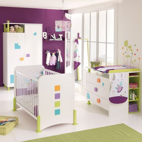 chambre bebe aubert 2009 visuel 1. Black Bedroom Furniture Sets. Home Design Ideas