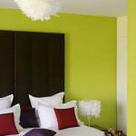Chambre deco vert anis for Deco chambre vert anis