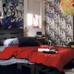 chambre decoration rock