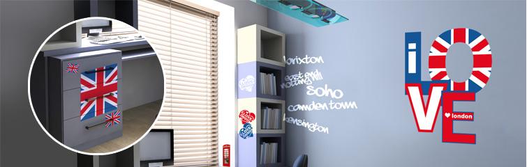 deco anglaise pour chambre d ado visuel 5. Black Bedroom Furniture Sets. Home Design Ideas